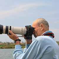 Portrait of a photographer (avatar) mark (mark Babich)