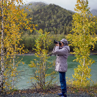 Portrait of a photographer (avatar) lora_pavlova